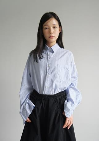classic stripe boxy shirts