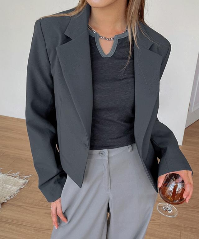 Sandra Taylor cropped jacket