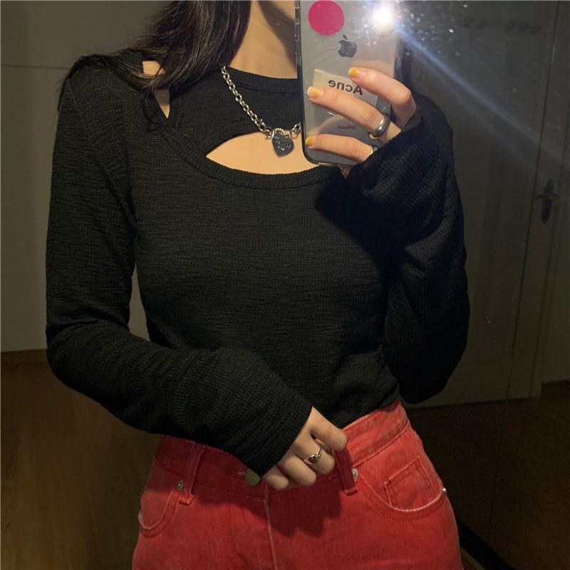 긴팔 티셔츠 모델 착용 이미지-S1L23