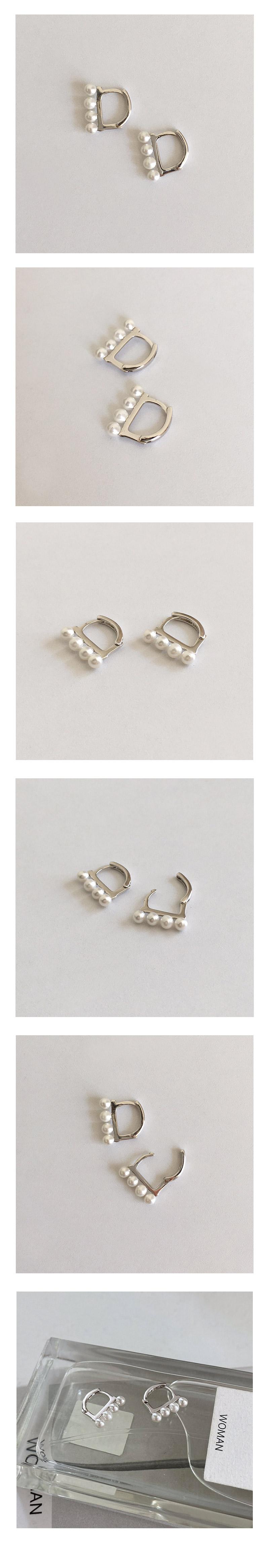 graceful pearl earring