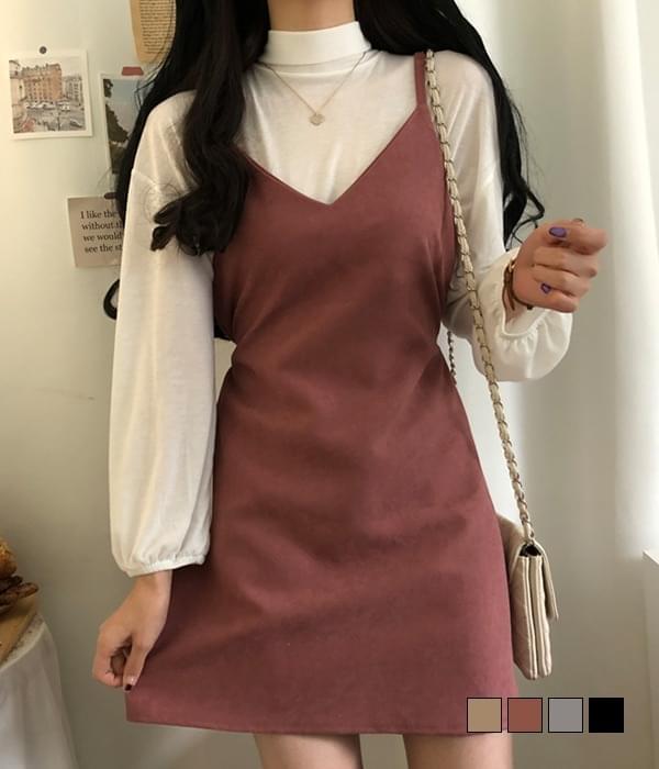 Girlfriend look bustier mini Dress