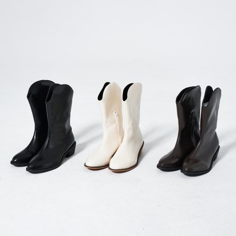 Hug Leather Western Boots