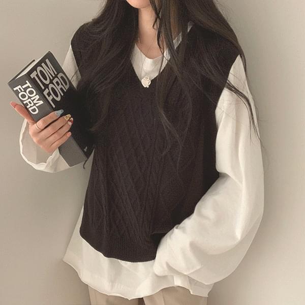 Autumn colored vest