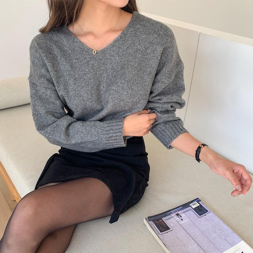 Humming Cash Wool V Knitwear