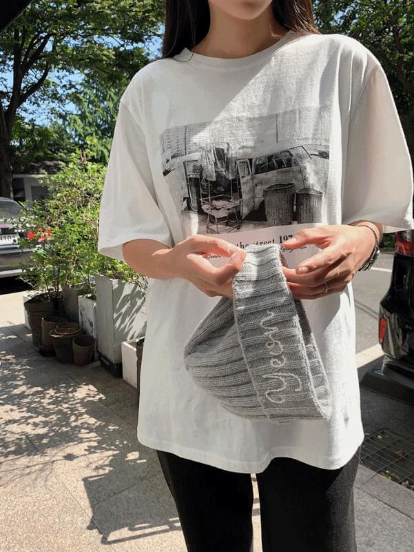 Vintage Printing T-shirt