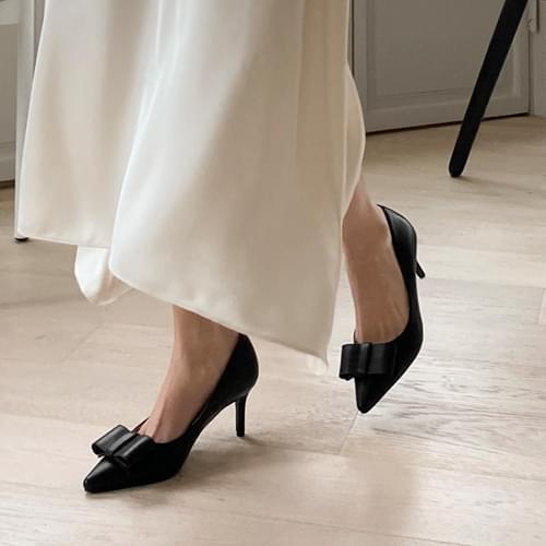 cameli ribbon stiletto heel