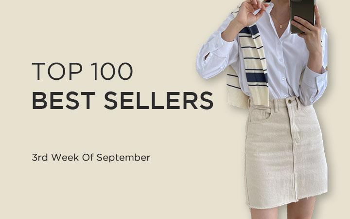 TOP 100 BEST SELLERS - 3rd Week Of September