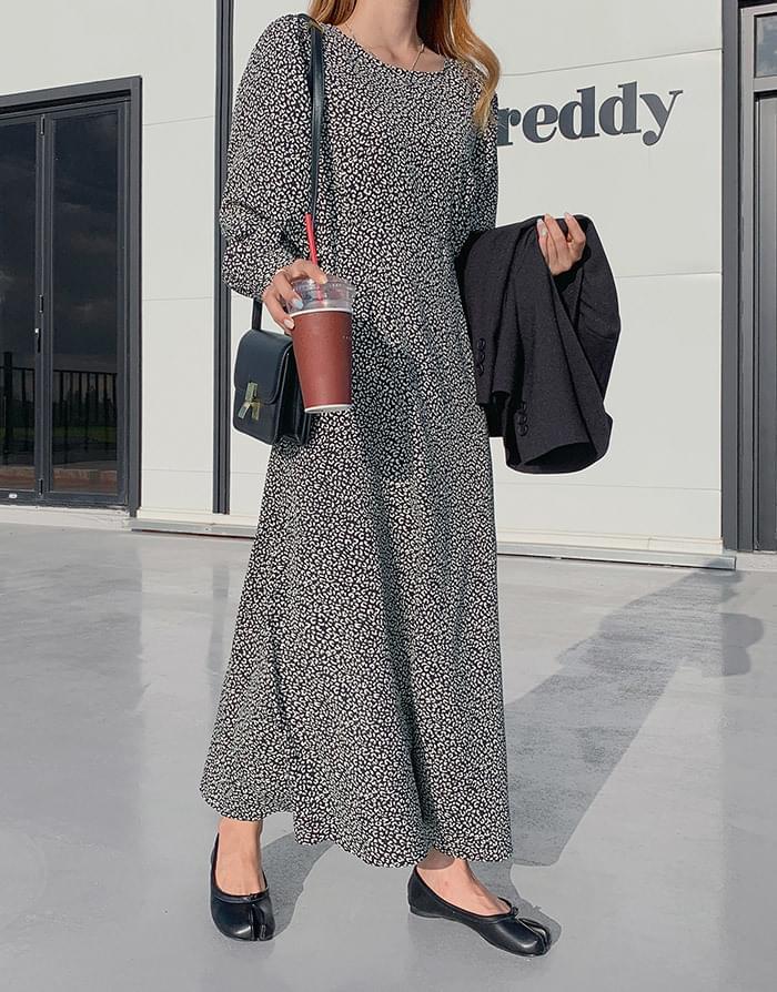 ONEED Nellit Leopard Long Dress