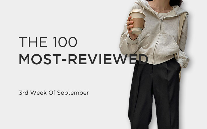THE 100 MOST-REVIEWED - 3rd Week Of September