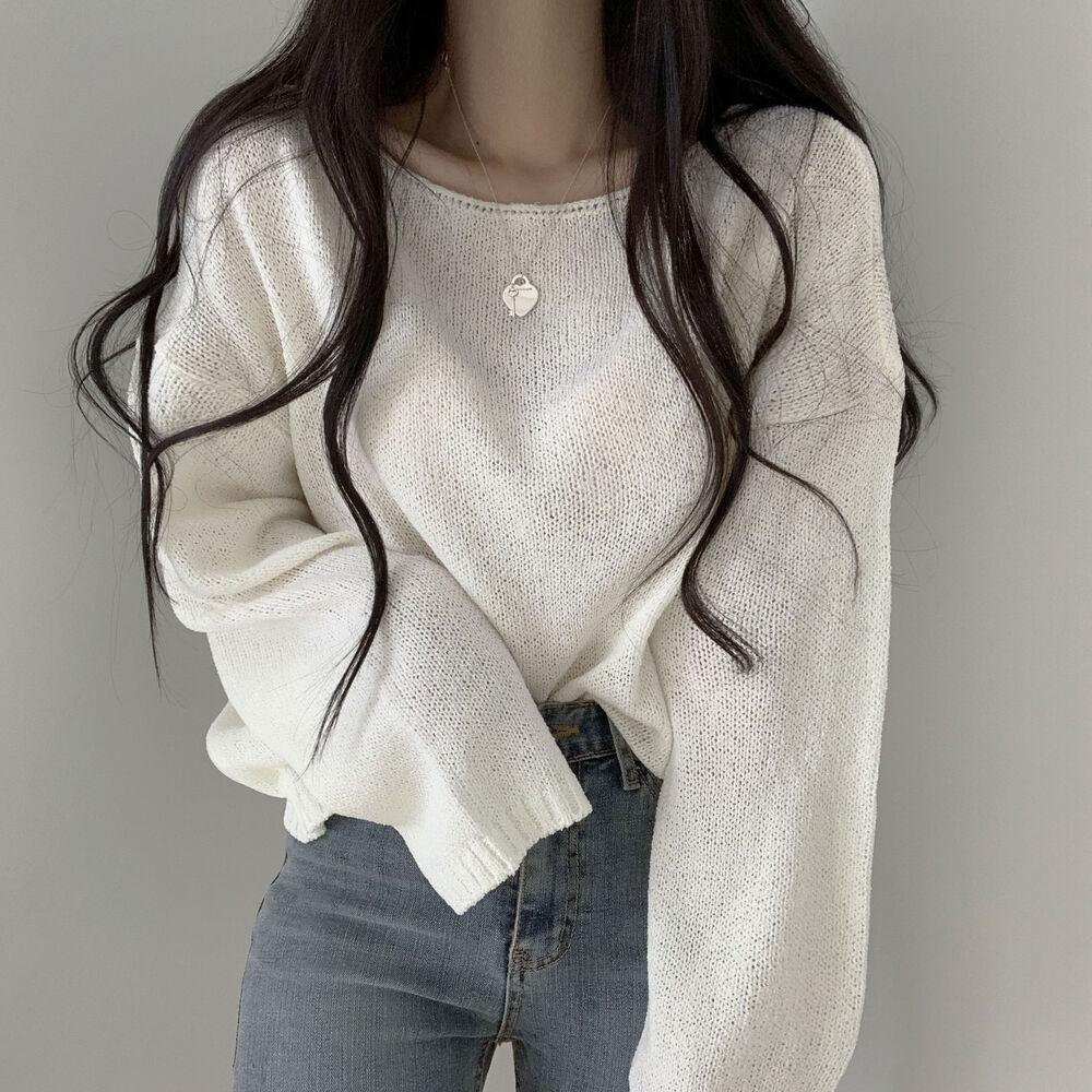 Yeori Fit Lip Neck Bookle Knitwear