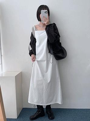 Faye Sleeveless Layered Dress