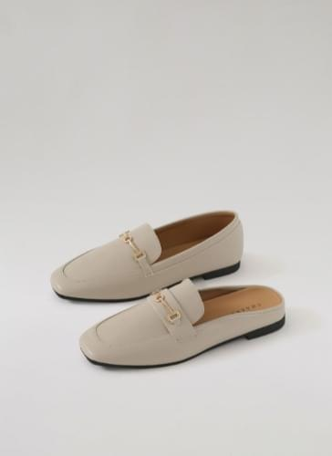 aden square horsebit loafers