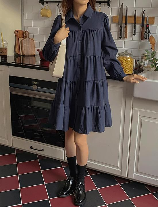 Nautti Cancan Dress(navy)