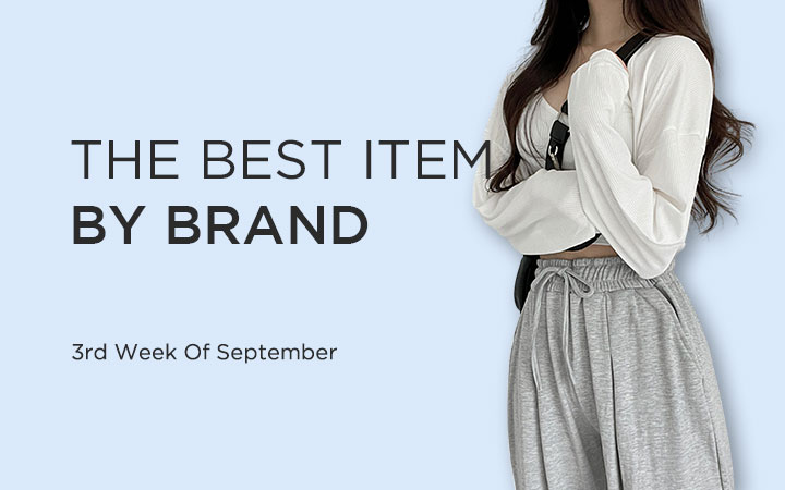 THE BEST ITEM BY BRAND - 3rd Week Of September