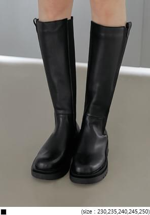 Chunky Tall Chelsea Boots