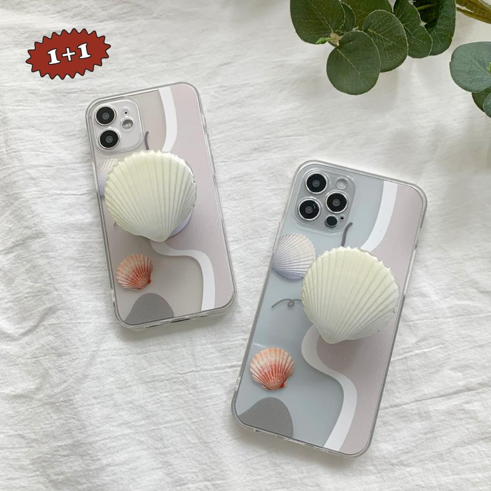 Emotional Shell Transparent iPhone Case