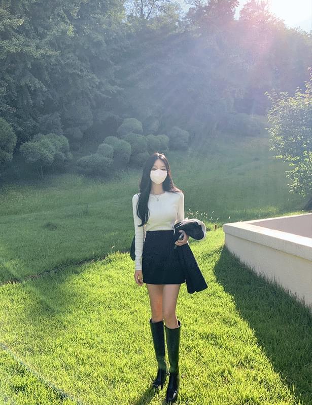 Miju tweed mini skirt