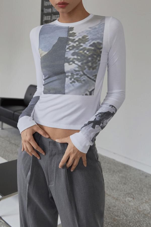lehman print T-shirt