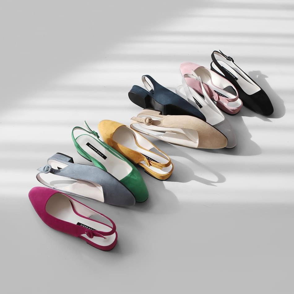Tieln slingback flat shoes