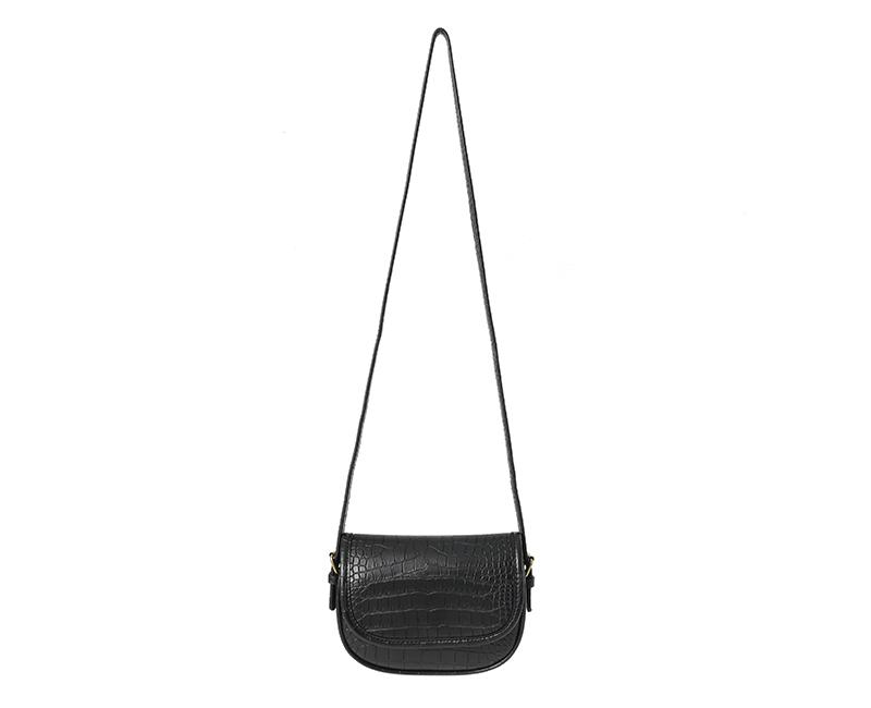 Formal Crocker Leather Shoulder Bag