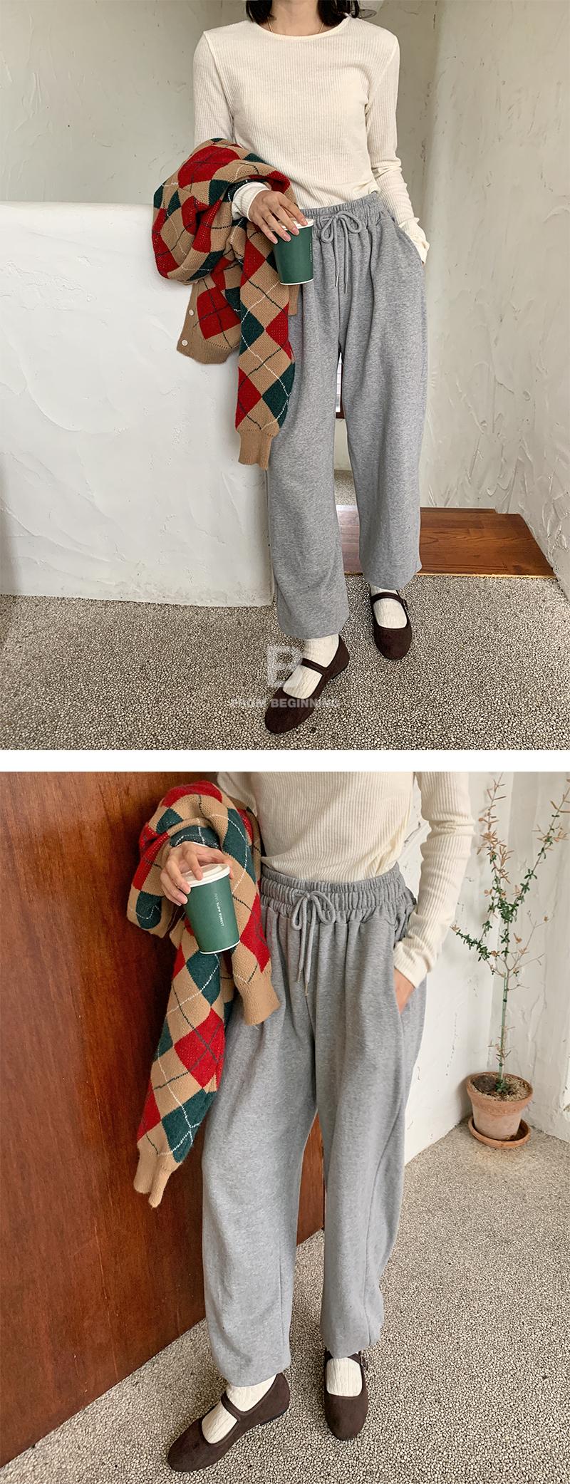 Milan Banding Jogger Pants