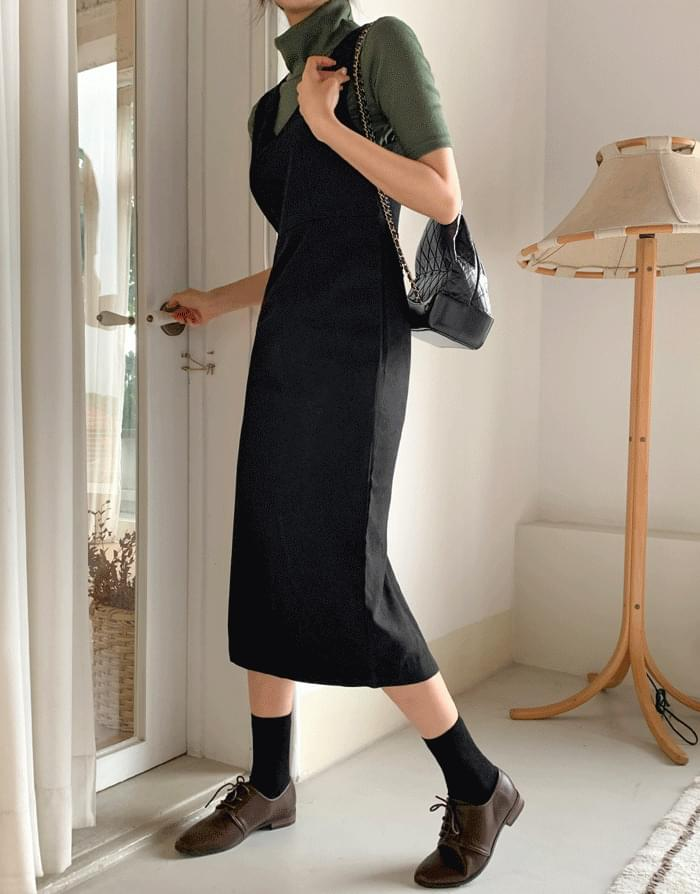 V slim Dress