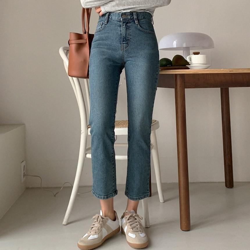 corded denim pants