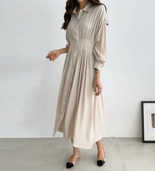 Minuet Shirring Dress #38092