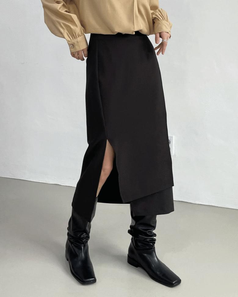 pre-unbald wrap skirt