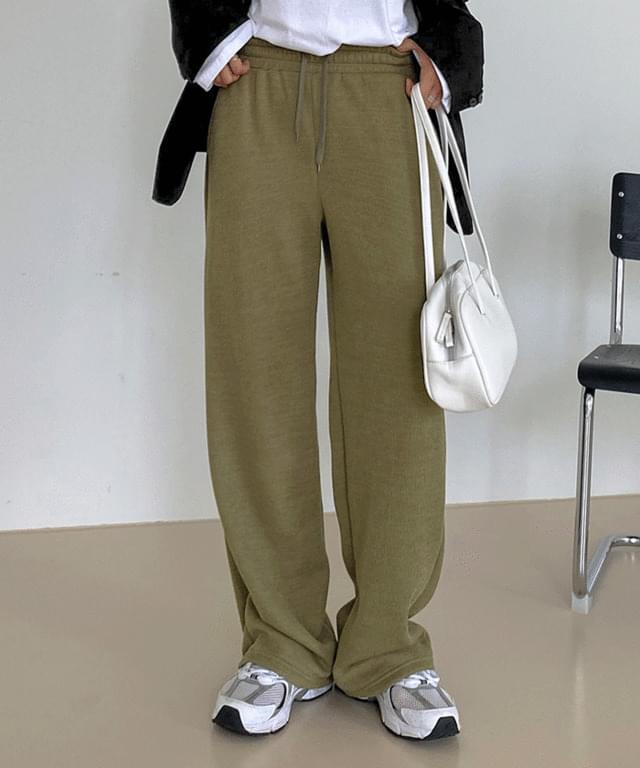 Char Training Knitwear Wide Banding Pants