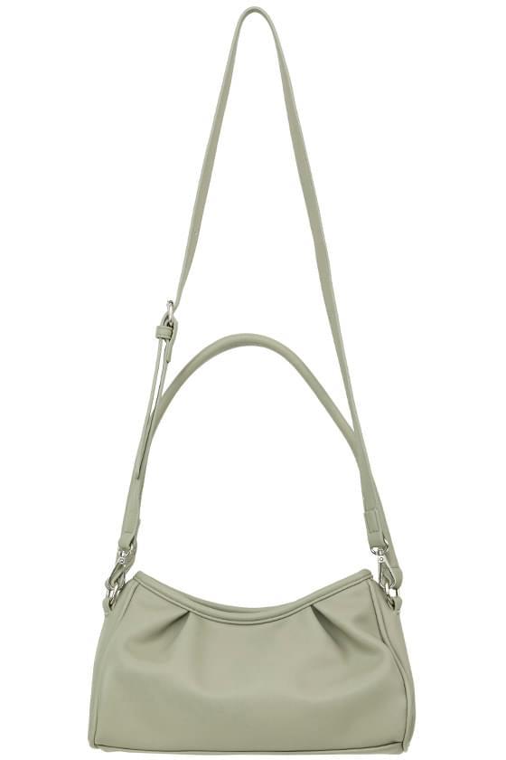 Grace shirring shoulder bag