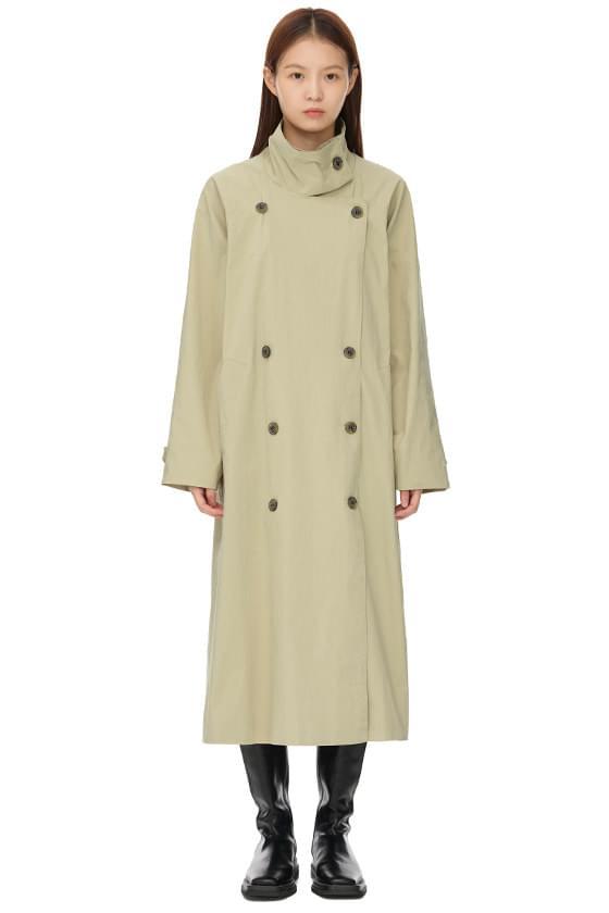 jazz raglan trench coat
