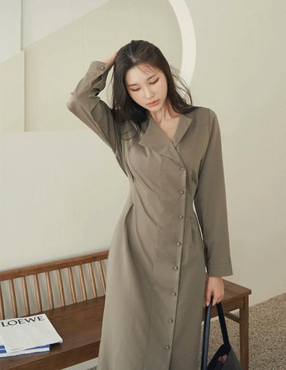 Zenito Button Dress