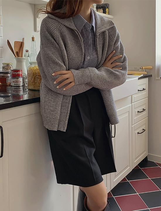 Roman Knitwear Zip-Up