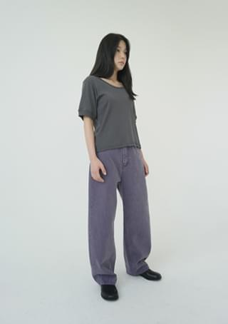 frank pigment color pants