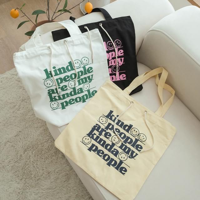 Kinder Daily Canvas Print Eco Bag 帆布包