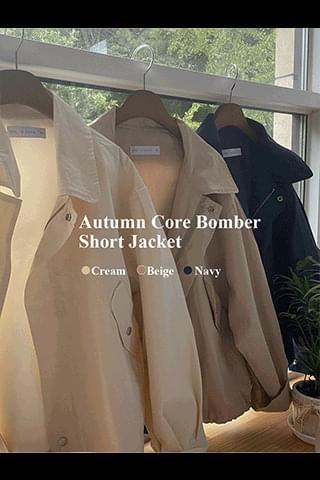 Autumn Core Field Short Jacket