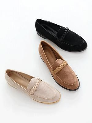 Volume line loafers 2cm
