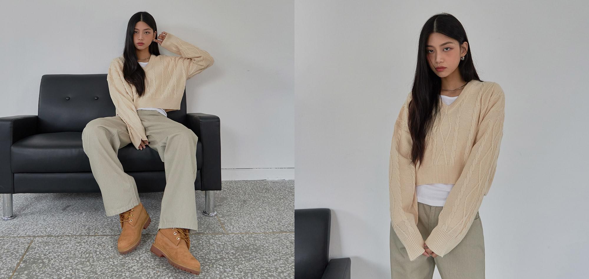 Mood Pigment Cotton Pants