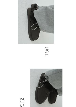 slipper type ugg shoes (3colors)