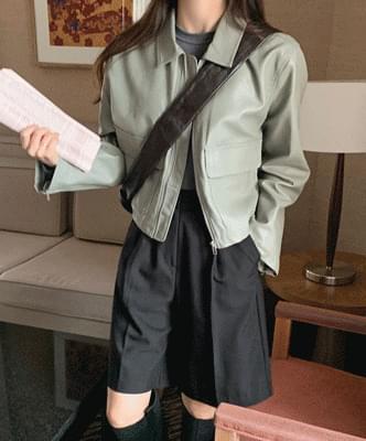 Homepage Leather Jacket
