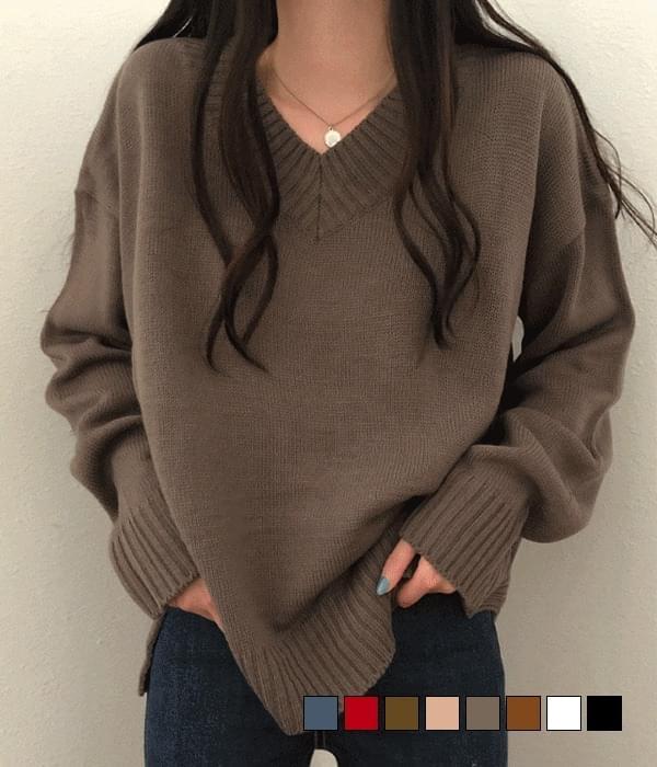 Tommy V-Neck Loose-fit Knitwear