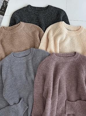Bosomi Round Nagran Knitwear