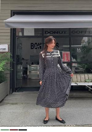 European ethnic long Dress