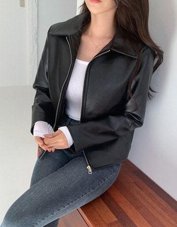 Rhoin Simple Basic Rider Jacket