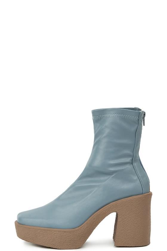 dump platform ankle boots