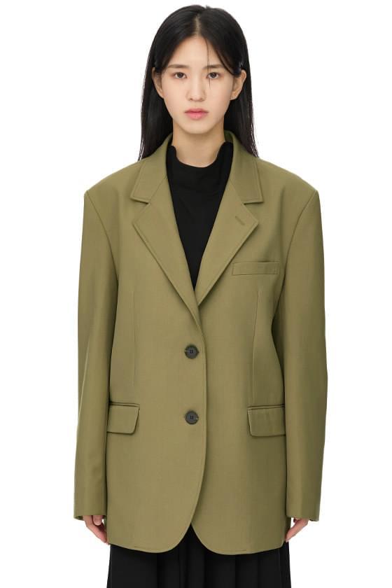 Maron oversized single blazer