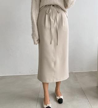 Rio Tencel Banding Long Skirt #53059