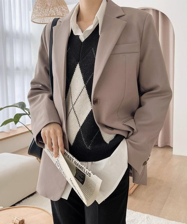 Big Size 55-77 Kell Daily Standard Single Jacket