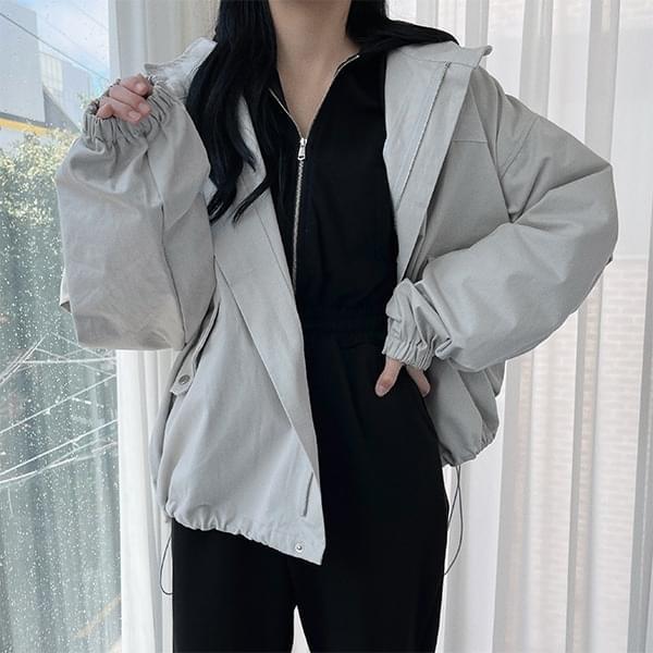 Street Overfit Cotton Field Jacket Jacket